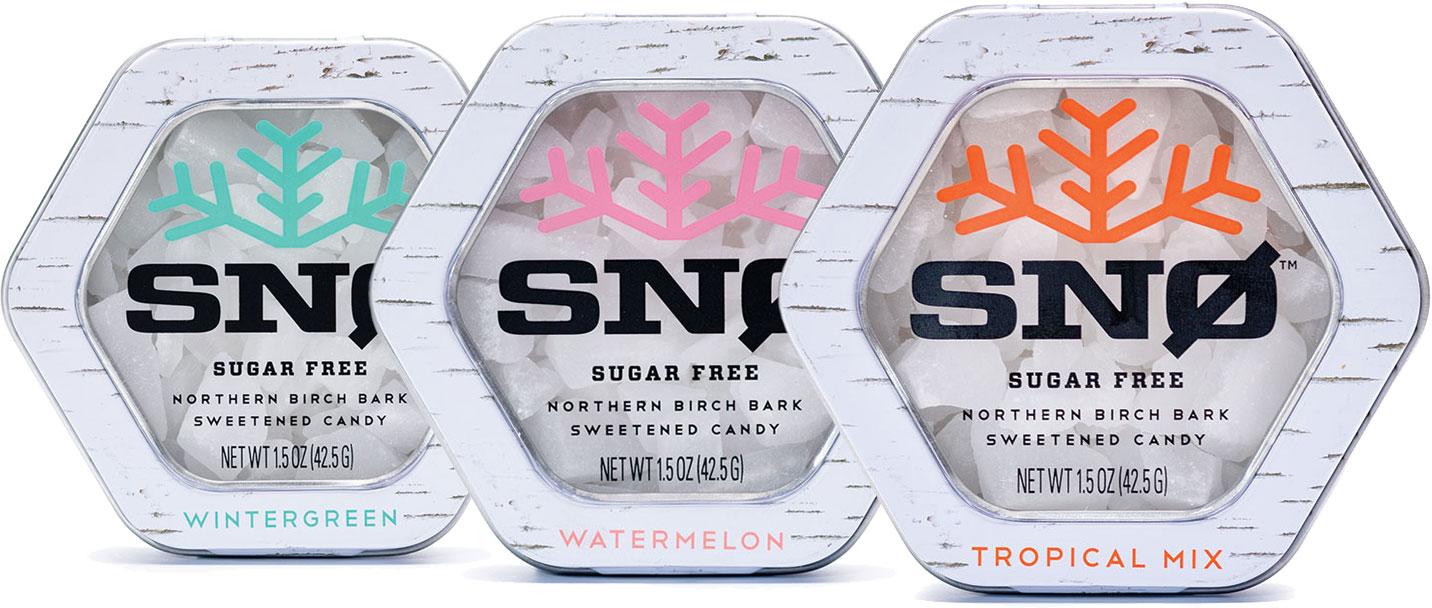 Snowflakes Candy. Pure sweetness from the land of ice and SNØ™.